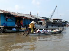 ZZ Ninja Kid: Planes, Trains, Autos & Boats #39 Floating down the Mekong, Cambodia to Vietnam