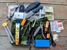 Maxpedition EDC Pocket Organizer easy to add air gauge face shield cleaner sunscreen chap stick etc.