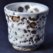ぐい呑み一覧 - 釉薬やカイラギの個性的な陶芸作品、ぐい呑み販売  | 陶芸家・萩原啓蔵