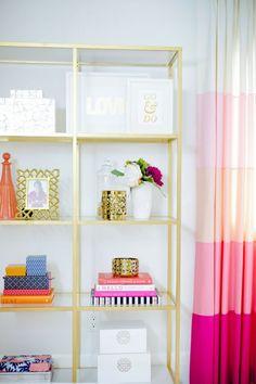 Na oud zilver en rosé goud, heeft goud zijn intrede gemaakt in het interieur. Het is een trend! #Thenewgirlintown #interior #design #gold