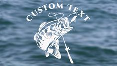 SIZE MATTERS FISHING sticker decal bass fish boat shimano hook reel bait sea