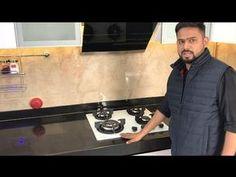 """L-Shaped Modular Kitchen Design, Acrylic Finish - Pune"" by CivilLane.com - YouTube L Shaped Modular Kitchen, L Shaped Kitchen Designs, Kitchen Room Design, Interior Design Kitchen, Kitchen Corner, Loft Storage, Glass Kitchen, Living Room Designs, Pune"