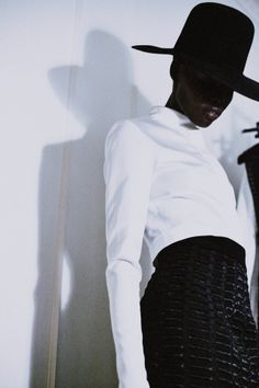 Grace Bol for Barbara Casasola AW14 #fashion #model #backstage