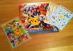 The 2013 Pokemon Calendar is here!