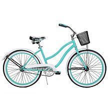 My pretty teal Summerland bike...   Girls' 24-Inch Huffy Summerland Cruiser Bike