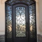 Iron Entry Doors Design, Pictures, Remodel, Decor and Ideas