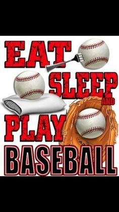 eat, sleep, play baseball