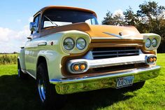 Chevrolet Apache Pick Up 1958 V8 – CCC