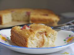 Separate Toasters: Peach and Buttermilk Cake