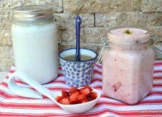 Cum se face iaurt de casă foarte cremos – rețeta de iaurt natural simplu sau cu fructe Trifle, Tiramisu, Mousse, Mason Jars, Ricotta, Sweets, Dinner, Cooking, Tableware
