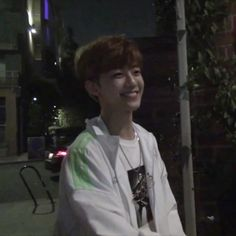 A candid photo of Jaemin from Lou's phone, that one night they decide to walk around aimlessly in the city, bought cheap food and talk about meaningless, stupid things like do onions scream when they get harvested - a memory that will be forever cherished.