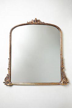 400 $ - ce type de miroir, ferait un contraste intéressant avec le reste (seul élément élaboré, avec fioritures)