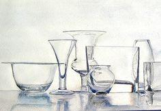 watercolor glass