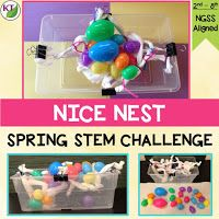 This STEM challenge is perfect for Easter or any time in the spring!               Premise   Working against a criteria & constrain...