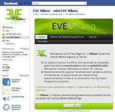 Mini Siti Facebook, Facebook landing page