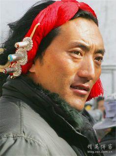 Tibetan Khampa Man