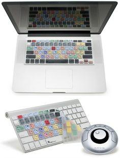Adobe Photoshop CS3, 4 & 5 - MacBook Keyboard Cover