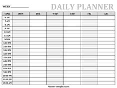 Get the best collection of Printable Daily Planner Template for your professional goals. You will also get Blank Hourly and Weekly schedule images here. Daily Planner Pages, Daily Planner Printable, Planner Template, First Grade Books, Daily Schedule Template, Play Therapy Techniques, Singapore Math, Psychology Books, Speech Therapy Activities