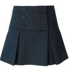 Patrón falda con solapa y pliegues | Patrones gratis