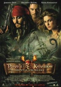 Pirates of the Caribbean: Dead Man's Chest - The high-seas adventures of happy-go-lucky troublemaker Captain Jack Sparrow, young Will Turner and headstrong beauty Elizabeth Swann continues, as Sparrow works his way out of a blood debt with the ghostl All Movies, Great Movies, Disney Movies, Movies To Watch, Movies Online, Disney Art, Movies Free, Iconic Movies, Popular Movies