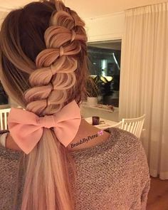 #romantic #pretty #braids #hairstyle