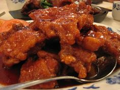 This is the closest to the taste of the Peking Porkchops (ribs) in Chinese (Cantonese) restaurants