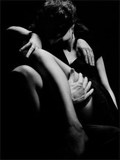 I love this most. In your arms, swept off my feet and deep in your kiss