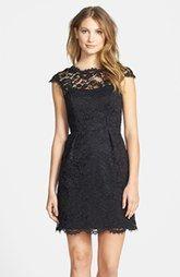 Shoshanna 'Olivia' Lace Sheath Dress