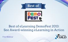 Best of eLearning DemoFest 2013: See Award-winning eLearning in Action | one of the examples: http://fglsports-training.com/footwear/default.html