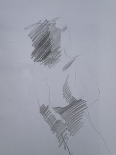 Pencil on paper. Matita su carta.   30 x 42 cm.