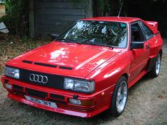 Audi quattro - repined by http://www.motorcyclehouse.com/ #MotorcycleHouse