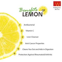 No wonder lemon is called the 'all-purpose' fruit!  #fitness #health #benefit #lemon #fruit #diet #food