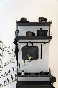 Entryway Shoe Storage, Storage Spaces, Mobiles, String Pocket, String Shelf, String System, Drop Zone, Sleep Set, First Apartment
