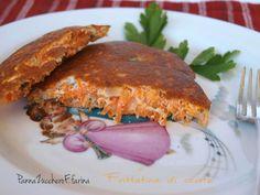 Frittatina con carote