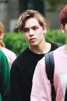 When Vernon sees a boy flirting with you