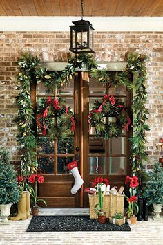 Wreaths are wonderful. Hang one on your front door and you instantly create a warm, welcoming entrance for your guests that lasts all season...