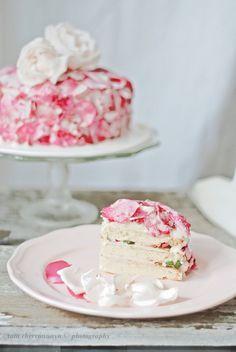 Beautiful Rose Cake
