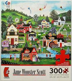 Vineyard by Art Licensing 550 Piece Puzzle George