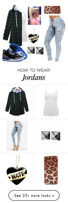 """"" by randombitch1996 on Polyvore featuring M&Co, NIKE, Waterford, women's clothing, women's fashion, women, female, woman, misses and juniors"
