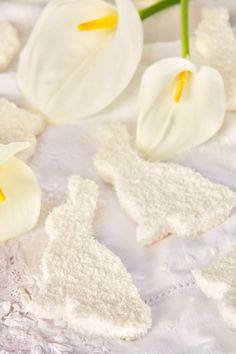 Marshmallows o Nubes de vainilla y coco