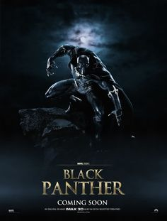 Black Panther (2017): Action - Superhero (Marvel) // The royal leader of an African nation's father is killed leaving him with the the kingdom and a costume called the black panther.