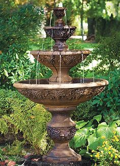 Gorgeous Garden Fountain.
