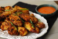 Chicken Wings with Pepperoni Sauce from Chef Mike Isabella's new book, Crazy Good Italian!