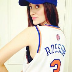 Emmy Rossum Gets Sporty