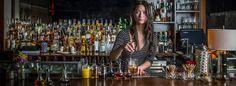 Natasha David mixes a Moon Suit at New York's cocktail den, Nitecap
