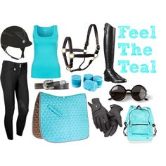 """""""Feel The Teal"""" Riding Outfit Collection"""