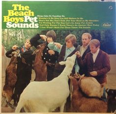 Beach Boys <Pet Sounds> cover, 1966. See smaller image at here: http://blog.naver.com/amamli/70104104325