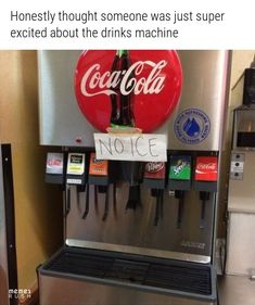 Honestly Thought Someone Was Just Super Excited About The Drinks Machine - Funny Memes. The Funniest Memes worldwide for Birthdays, School, Cats, and Dank Memes - Meme Baby Memes, Funny Pins, Funny Stuff, Random Stuff, Funny Shit, Funny Blogs, Random Things, Memes Of The Day, Lol