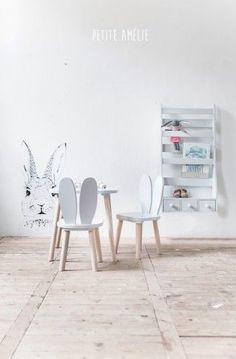 ... bunny chairs ...