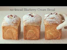 roti tanpa roti) Blueberry Cream Roti - YouTube Creme, No Knead Bread, Feeding A Crowd, Bread Rolls, How To Make Bread, Sweet Bread, Biscotti, Blueberry, Good Food